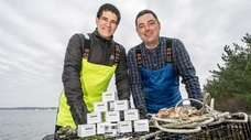 Long Island oyster farmers David Daly and his