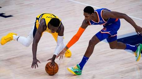 Pacers' Victor Oladipo and RJ Barrett (20 points