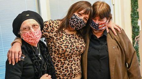 From left, Anna Jutis, Dyan Sybalski and Linda