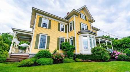 Priced at $2,495,000, this three-bedroom, 3½-bath Victorian in