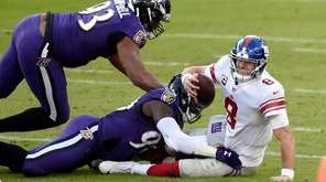 Watch highlights from the Giants' loss to the