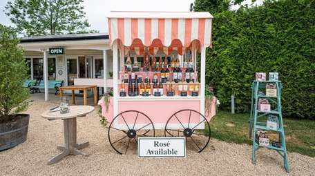 The Wine Stand at Wölffer Estate Vineyard in