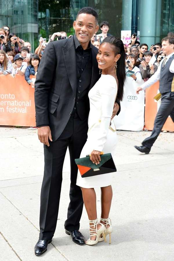 Producer Will Smith and actress Jada Pinkett Smith