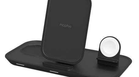 Mophie's new 3-in-1 wireless charging stand provides up