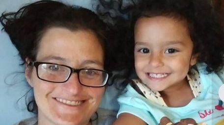 Kristen Moore, 41, and her daughter, Alyssa Scott-Moore,