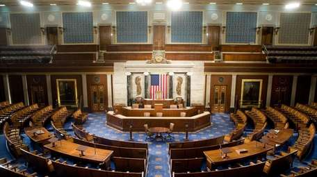 The U.S. House of Representatives chamber in Washington