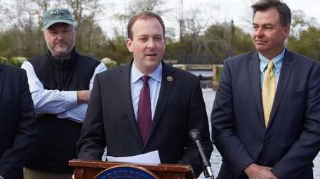 Rep. Lee Zeldin (R-Shirley), who said that Plum