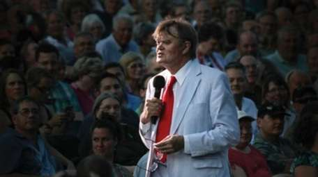 Garrison Keillor talks about life in Minnesota and