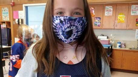 Molly Yulico was among the fifth-graders at Lloyd