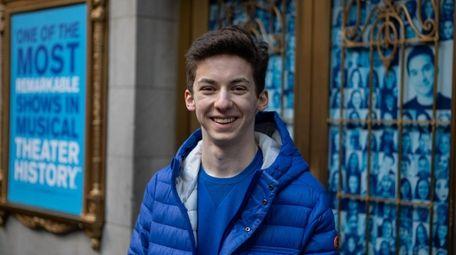Woodmere teen Andrew Barth Feldman is one of