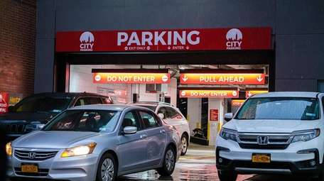 With free parking scarce in the city, paid