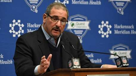 Giants general manager Dave Gettleman is coming back