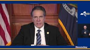 On Wednesday, Governor Andrew M. Cuomo said part