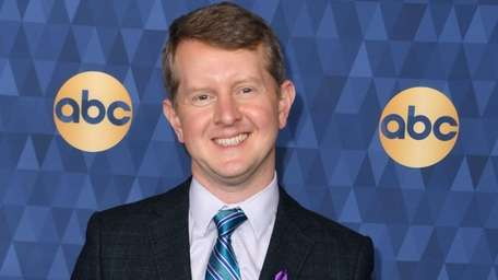 "Game show ""Jeopardy"" champion Ken Jennings attends ABC's"