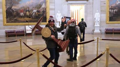 Pro-Trump protesters have entered the U.S. Capitol building