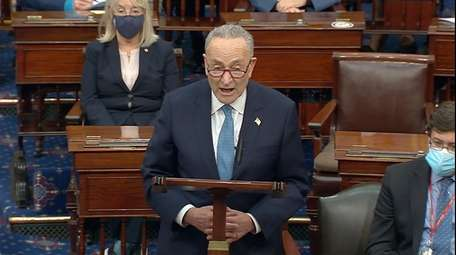 Senate Minority Leader Chuck Schumer of New York
