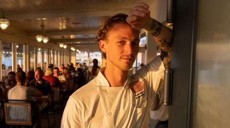Executive Chef Stephan Bogardus of The Halyard, at