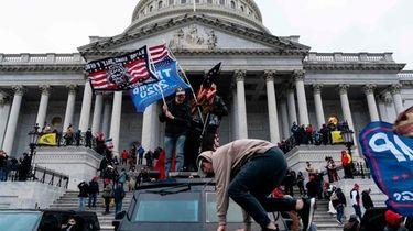 Still upset over the riots at the U.S.
