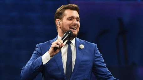 Singer Michael Bublé is set to play