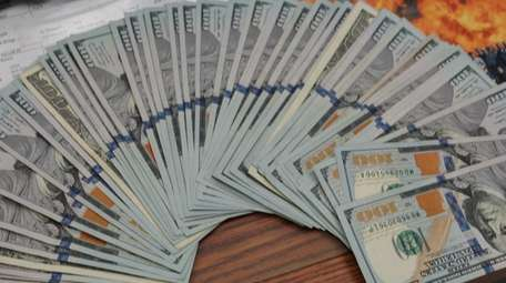 Suffolk detectives intercepted a package with $5,200 that
