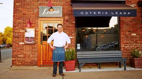 Chef Peter Van Der Mije at Osteria Lean
