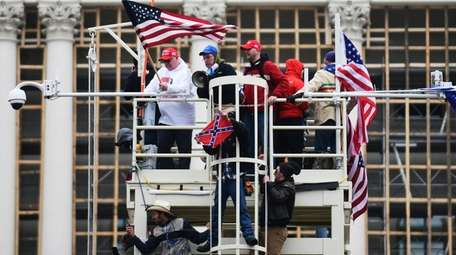 Supporters of President Donald Trump riot at the