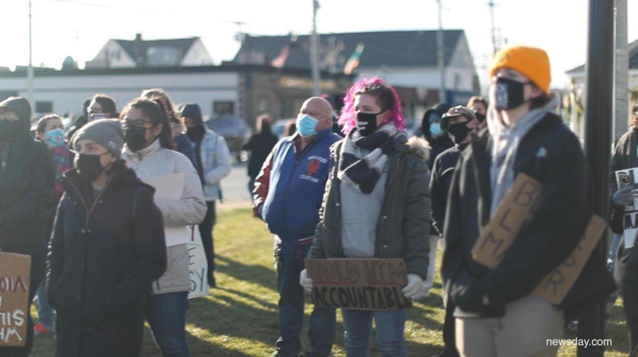 Black Lives Matter demonstrators marched in Wantagh on