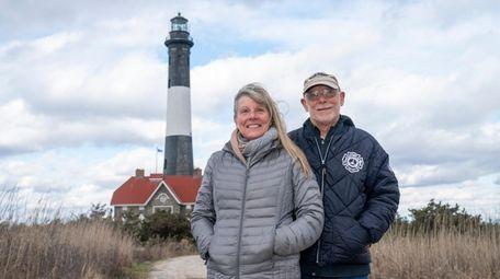 Year-round Fire Island residents Judi and Rusty Phelan