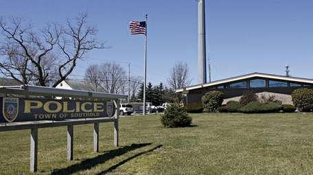 The Southold Town Police Department station house on