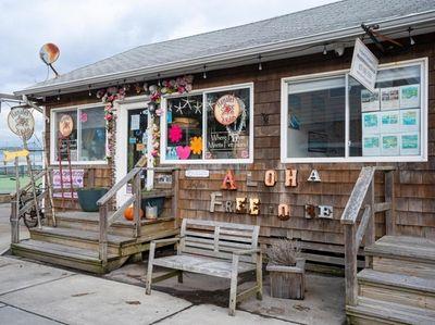 The town in Ocean Beach on Fire Island