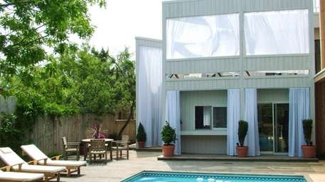 Listed for $2 million in Fire Island Pines,
