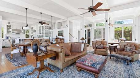 Listed at $4.9 million in Saltaire, this four-bedroom,