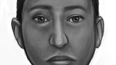 Suffolk County police released this sketch Wednesday of