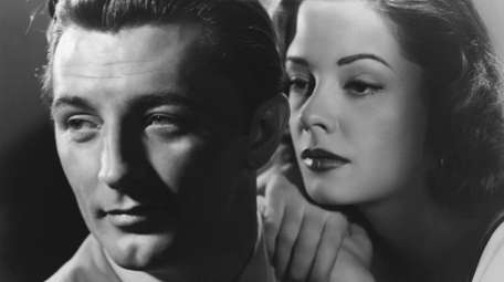 Robert Mitchum and Jane Greer star in the