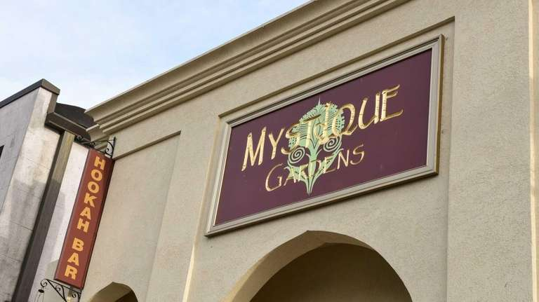 The owners of Mystique Gardens hookah lounge in