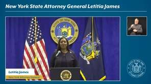 On Thursday, New York Attorney General Letitia James