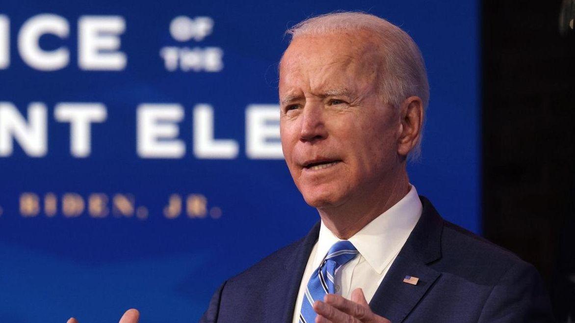 President-elect Joe Biden speaks about his plan to