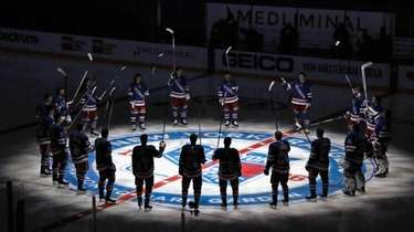 The Rangers prepare for their home opener against