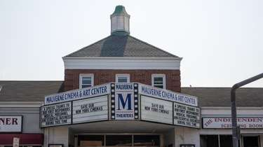 The Malverne Cinema & Art Center, which reopened