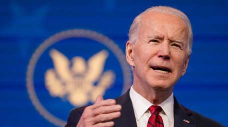 President-elect Joe Biden at The Queen theater on