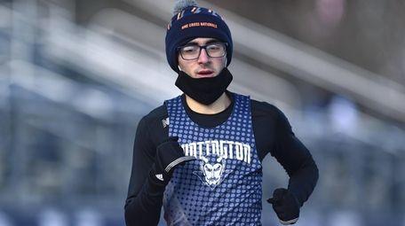 Video highlights from Huntington runner Aidan Heller's win