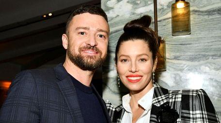 Justin Timberlake and Jessica Biel, who had son