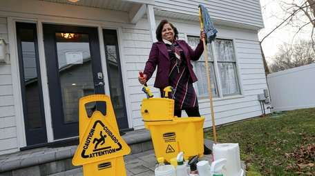 Iris Bertino, founder and owner of the cleaning