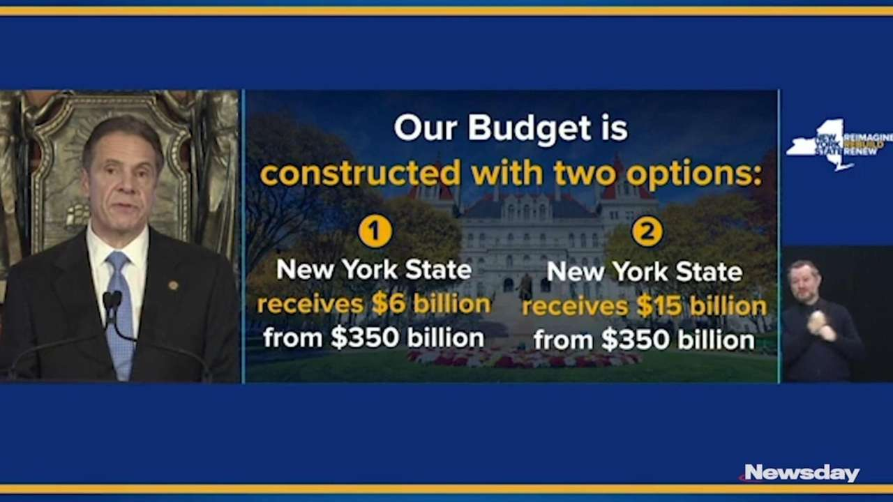 Gov. Andrew M. Cuomo announced the new state