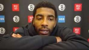 Kyrie Irving talked about having a conversation with