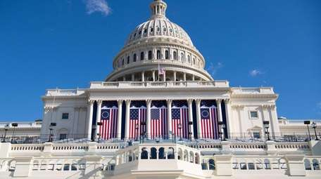 Preparations continue one ahead of the presidential inauguration