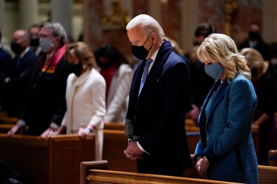 President-elect Joe Biden and his wife Jill Biden