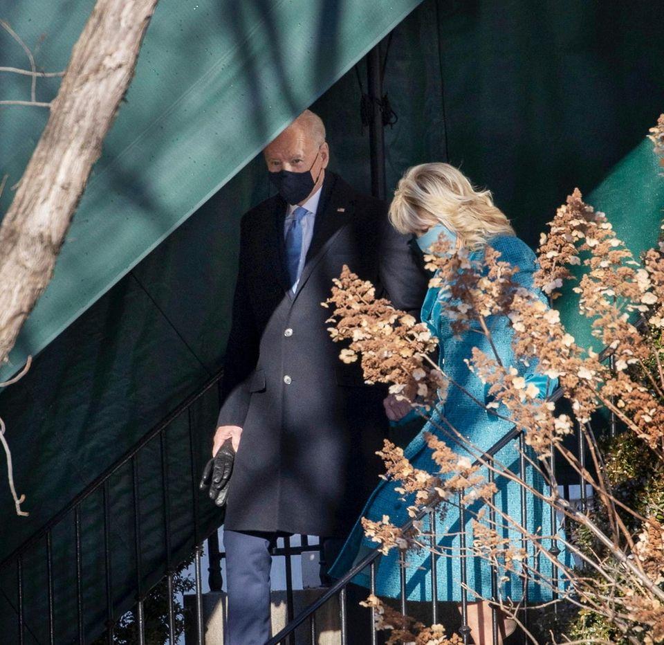 U..S. President-elect Joe Biden and his wife Jill