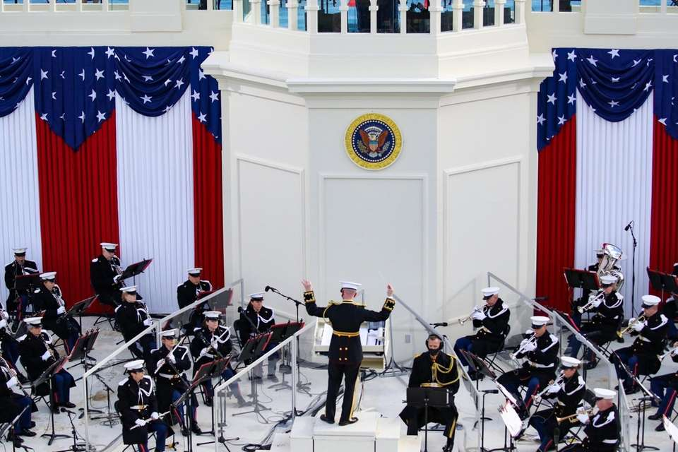 """""""The President's Own"""" United States Marine Band performs"""