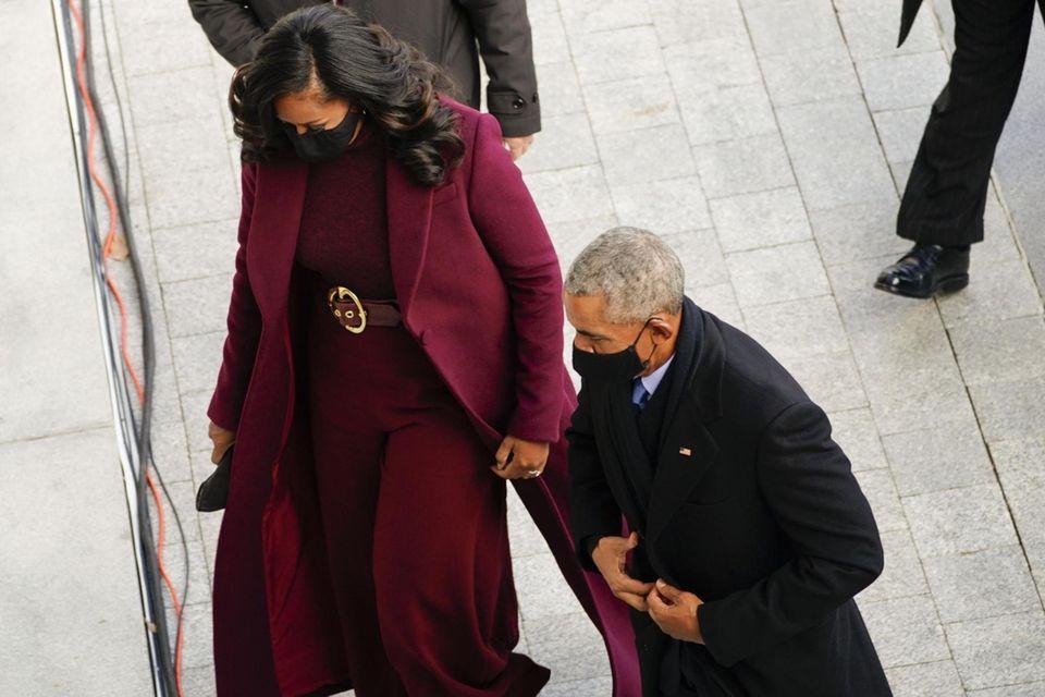 Former President Barack Obama, and former First lady